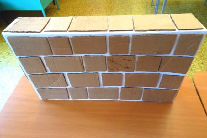 Обклеенные коробки