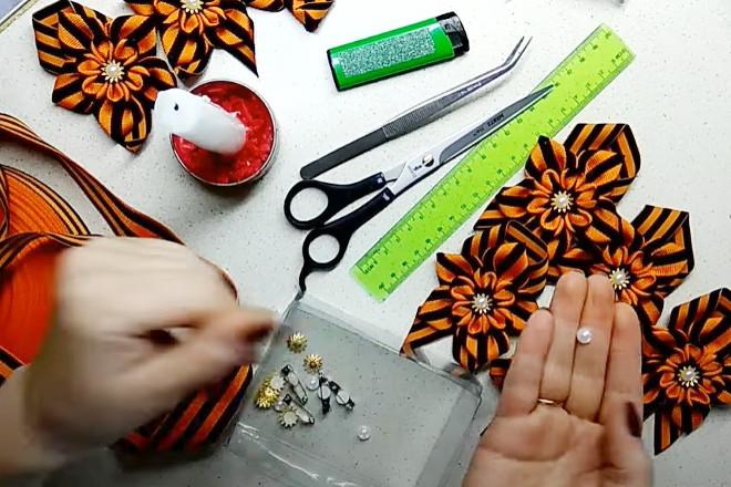 Материалы для изготовления броши