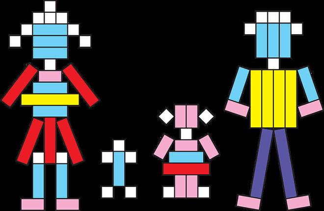 Схема для палочек Кюизенера