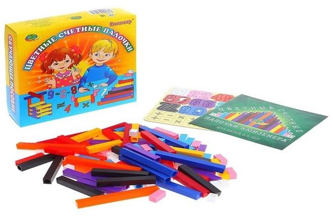 Набор цветных палочек Кюизенера
