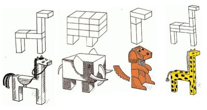 Схема поделок