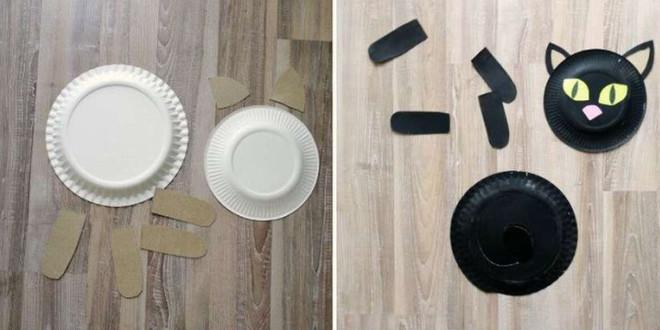 Бумажные тарелки для поделки