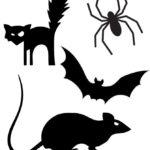 Трафареты мышей