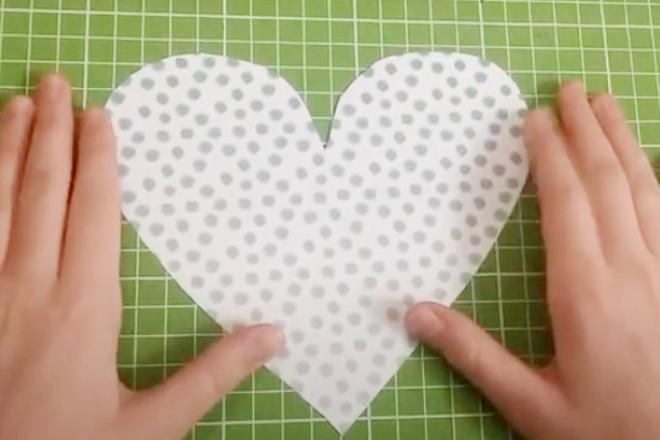 Заготовка сердечка
