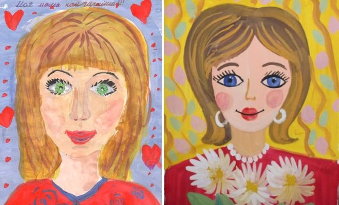 Портреты мам