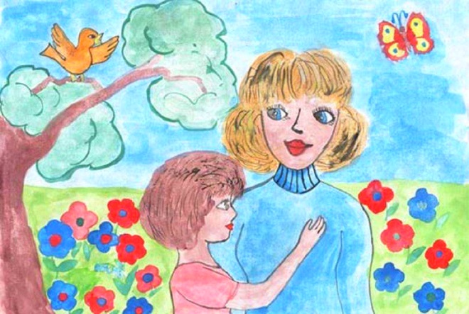 Рисунок маме-1