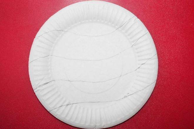 Линии на тарелке