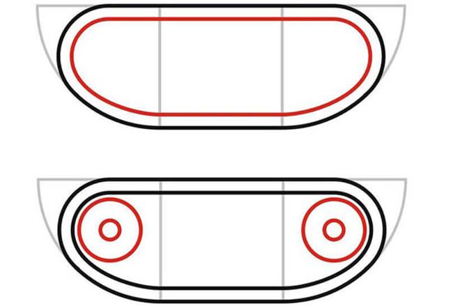 Контуры колес танка