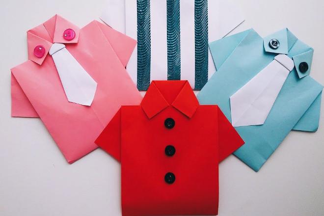 Открытки-рубашки