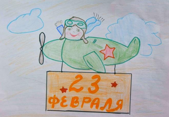 Самолет рисунок карандашами