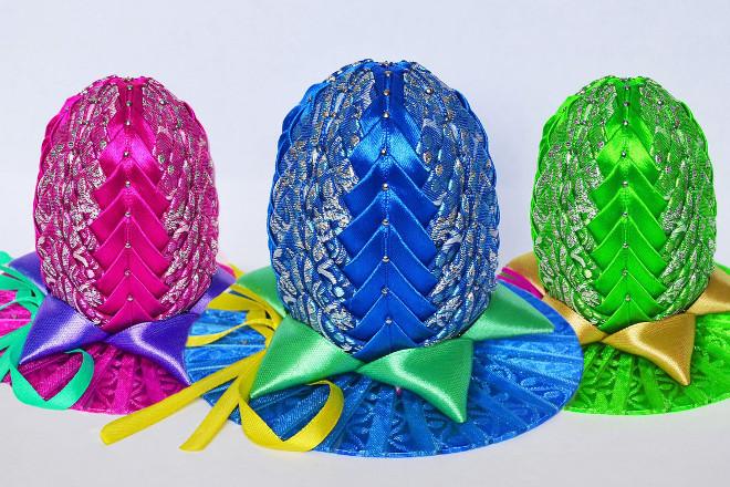 Голубое яйцо канзаши