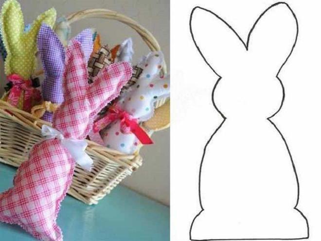 Кролик из фетра