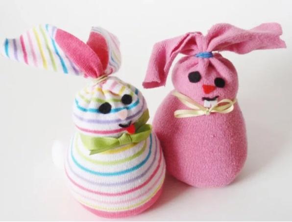 Кролики из носков