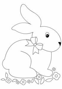 Шаблон заяц 1