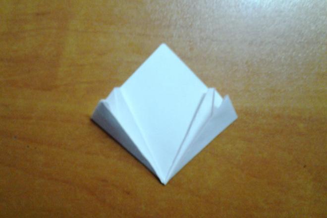 Ромб оригами