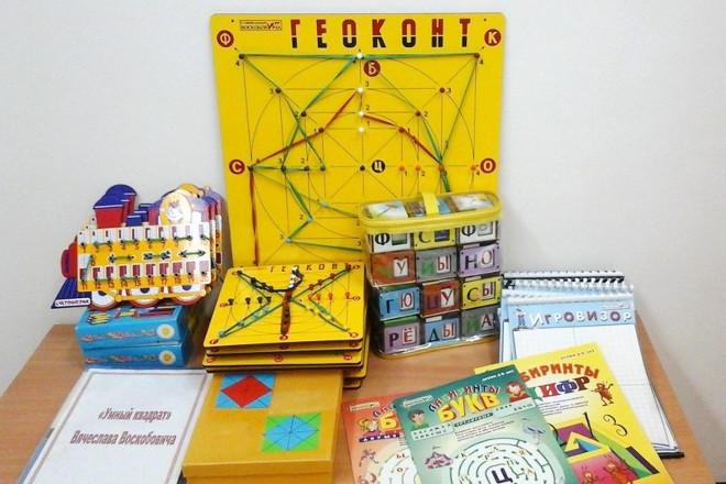 Пособия для игр Воскобовича