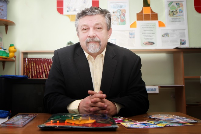 Вячеслав Воскобович в тьюторском центре
