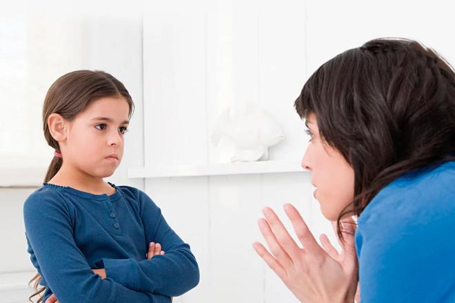 Девочка не разговаривает