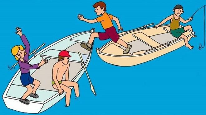 Правила поведения в лодке