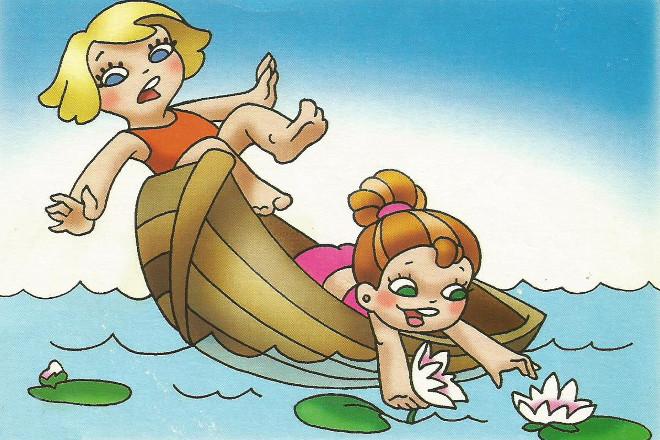 Правила купания в картинках 2