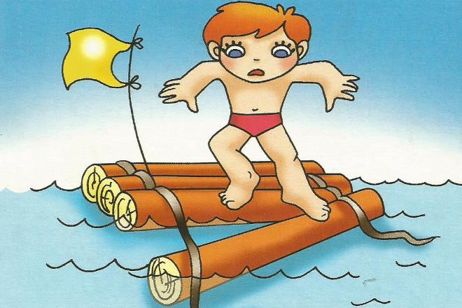 Правила купания в картинках 3