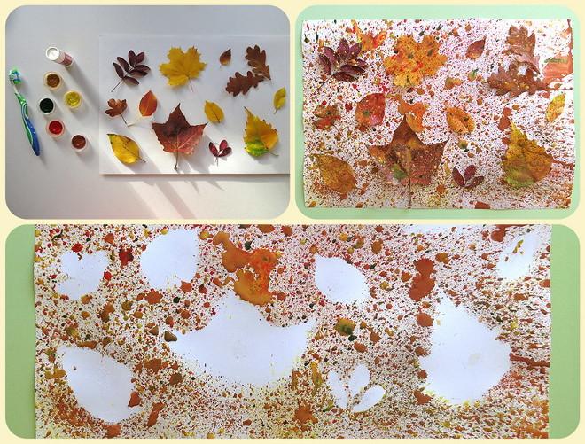 Окраска листьев